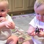 パパのくしゃみを真似する赤ちゃん達がカワイイ