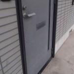 玄関を開けたら、予想外の場所からニャンコがお出迎え