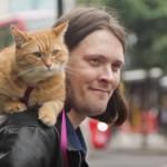 傷ついた猫(ボブ)を救ったホームレスのミュージシャン、ボブに恩返しをされる